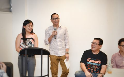 Ginger Arboleda of Manila Workshops and Marv de Leon of Freelance Blend hosted the panel discussion. Great points were made!